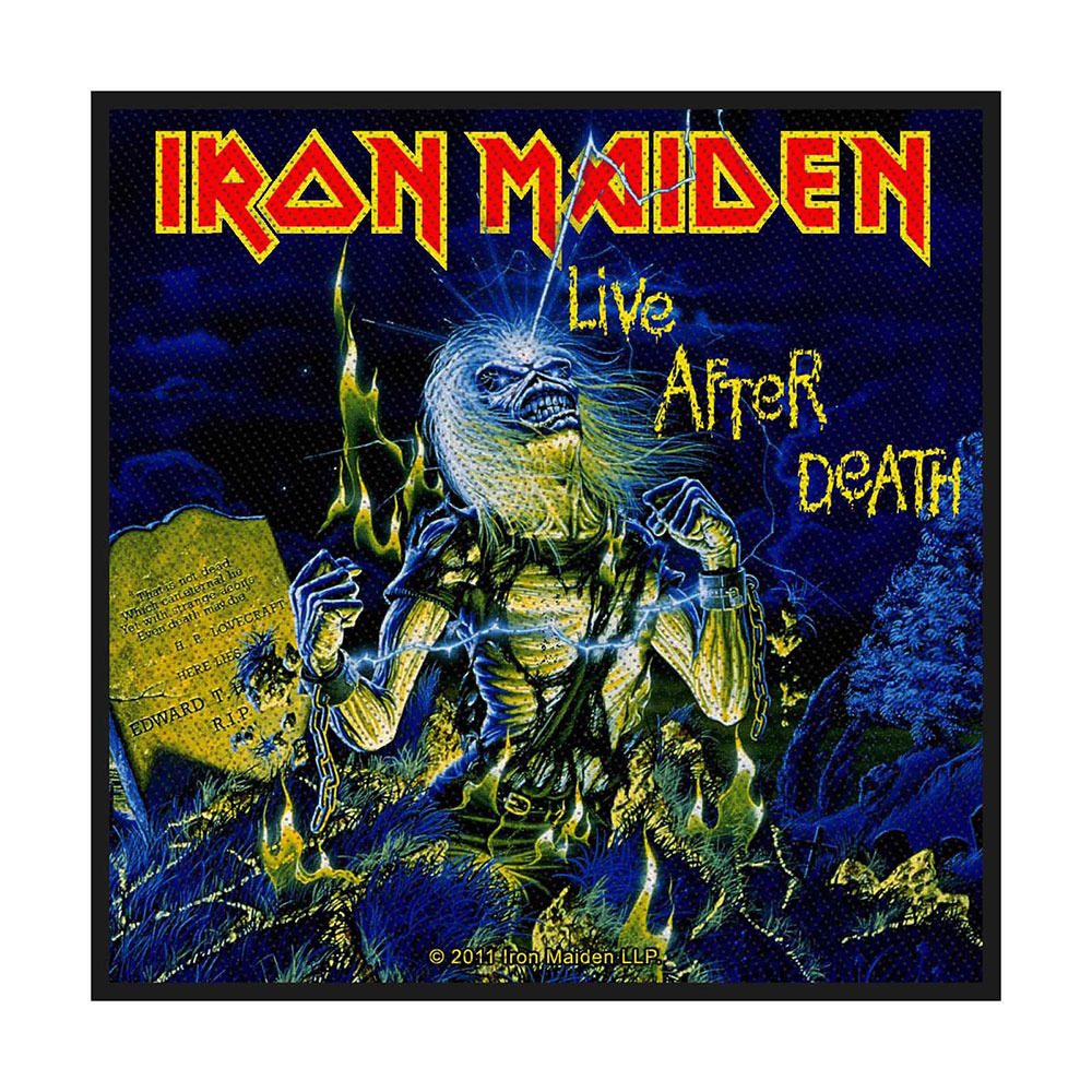 Нашивка Iron Maiden Live After Death