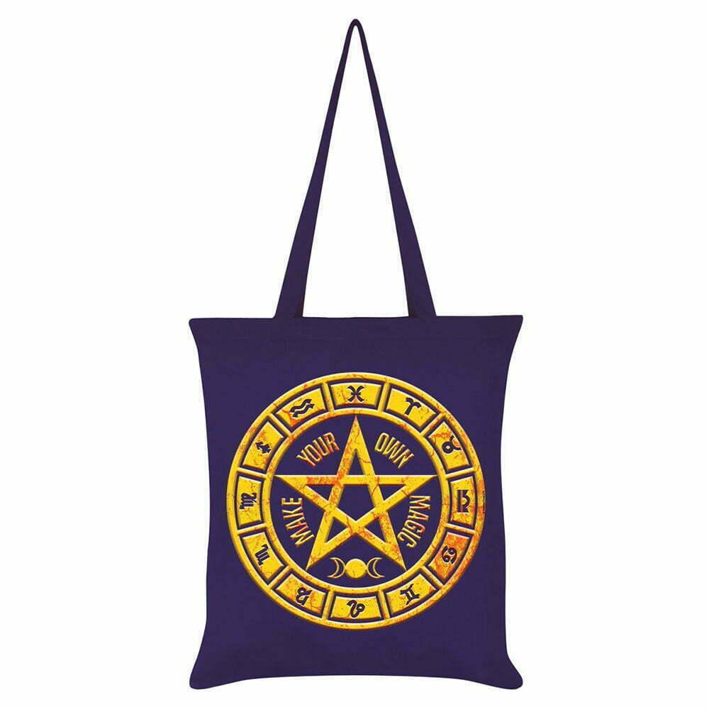 Платнена Чанта Pentagram Circle