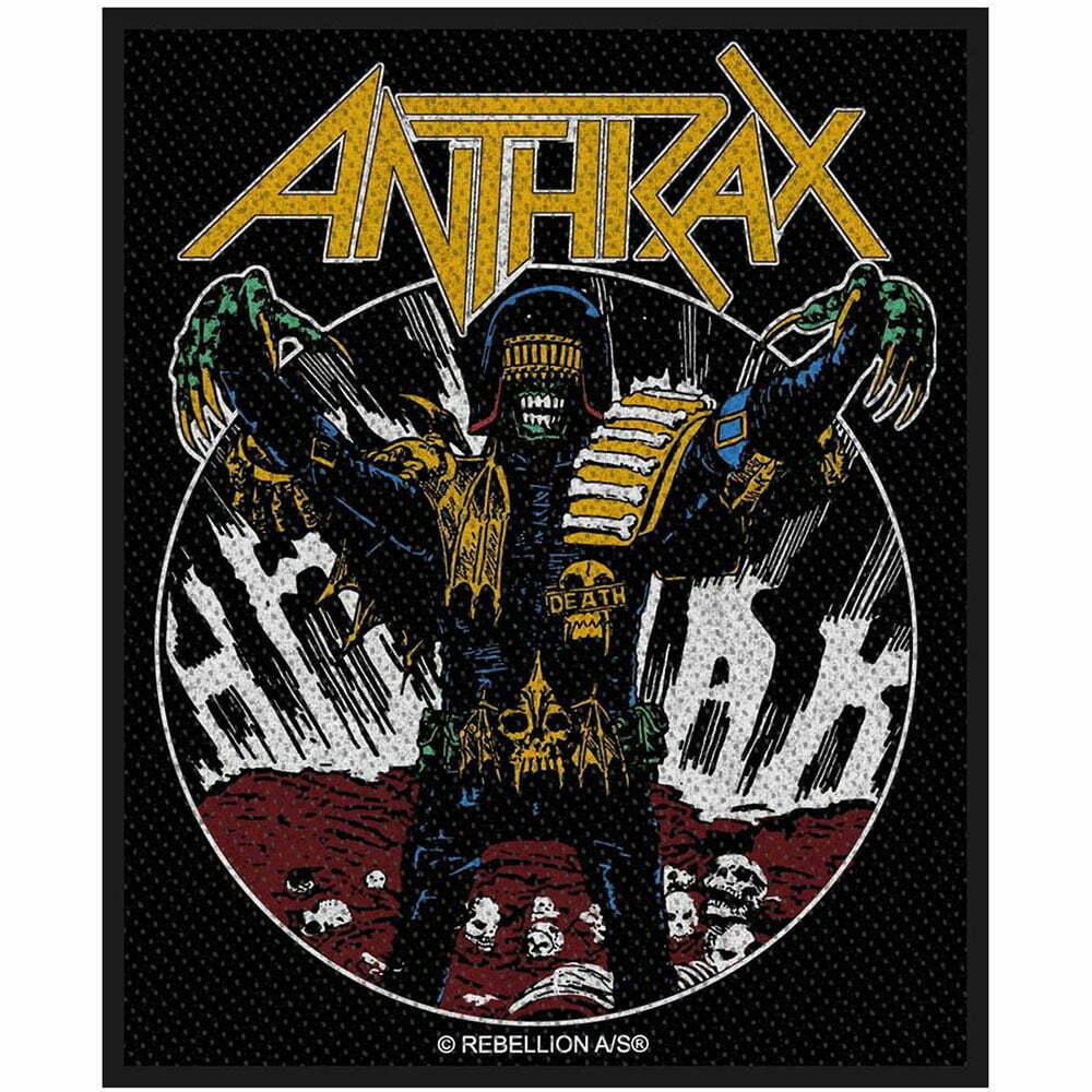 Нашивка Anthrax Judge Death