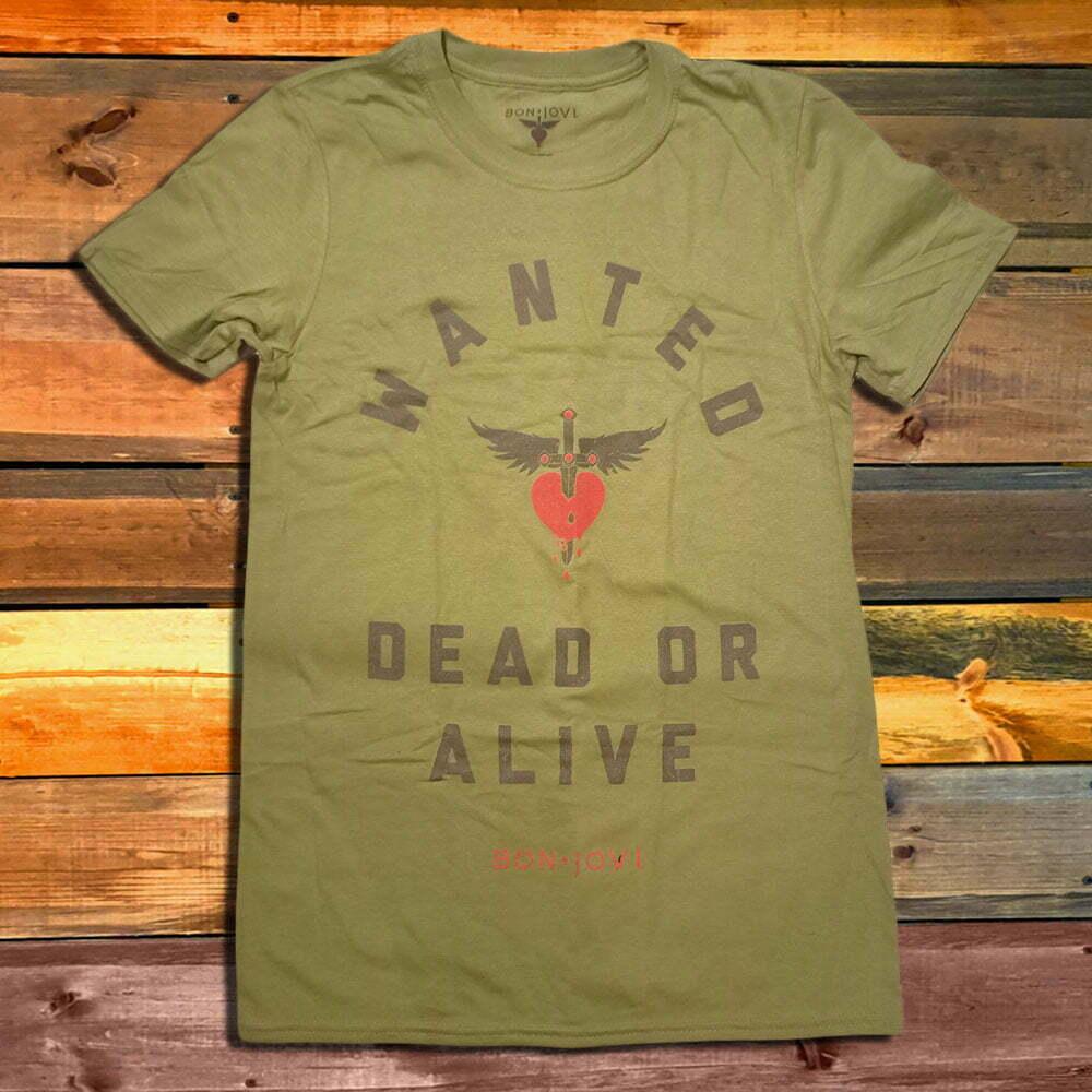 Тениска Bon Jovi Wanted