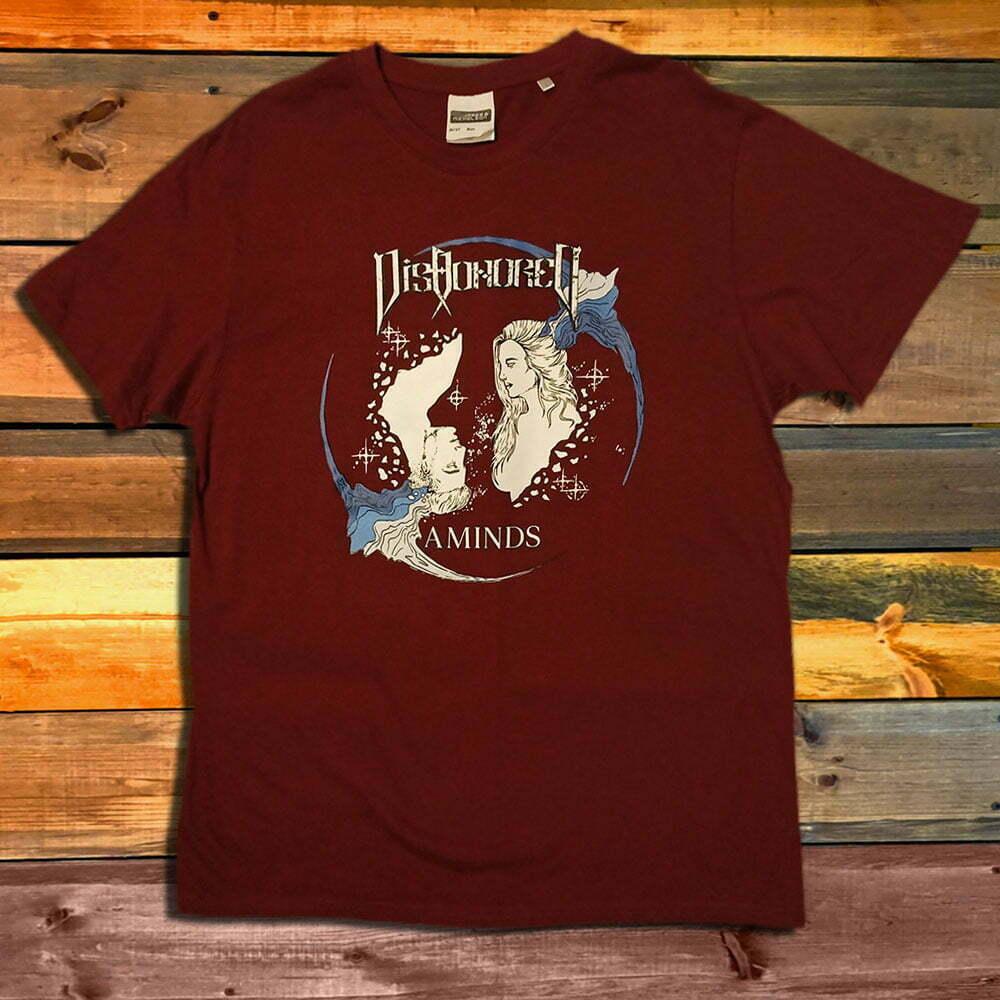 Тениска Dishonored Aminds Bordo