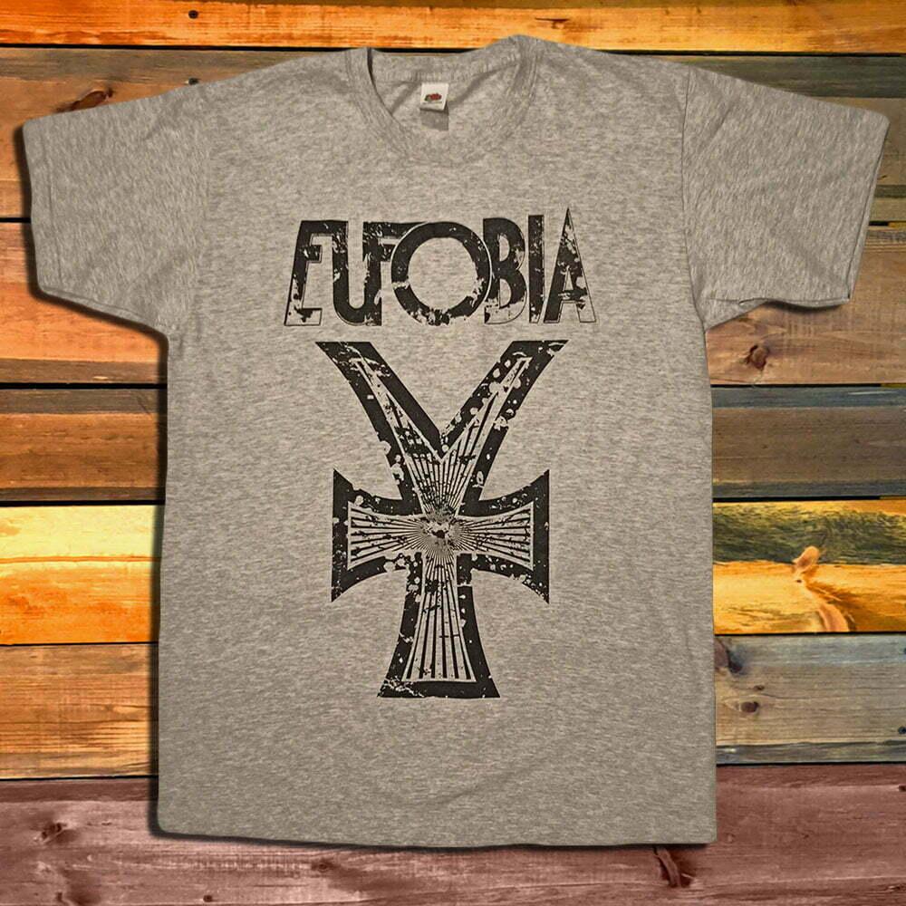 Тениска Eufobia Logo Grey