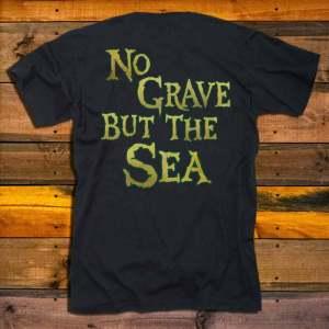 Тениска Alestorm No Grave But The Sea гръб
