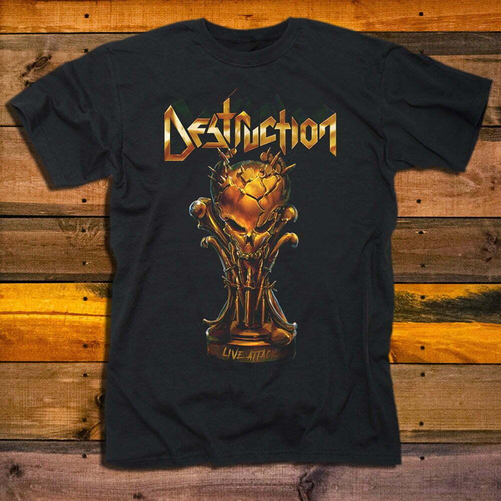 Тениска Destruction Live Attack