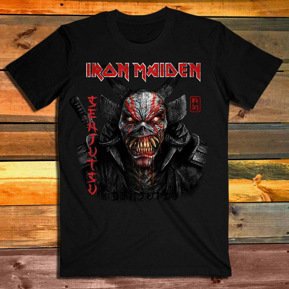 Iron Maiden Senjutsu Eddie Face