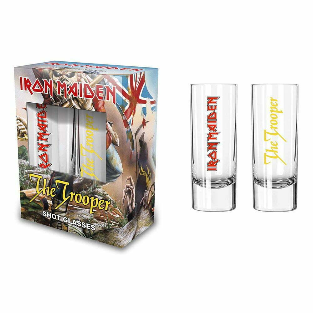 Чаши за шотове Iron Maiden The Trooper
