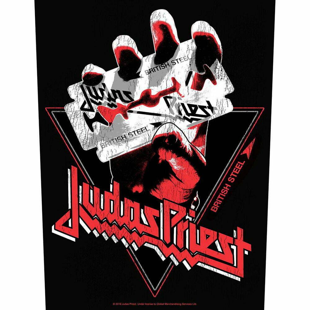 Гръб Judas Priest British Steel Vintage