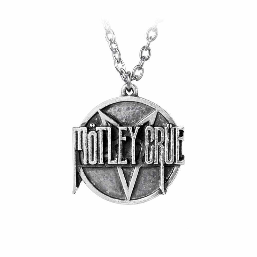Колие Motley Crue Pentagram Logo