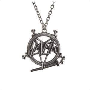 Колие Slayer Pentagram Logo