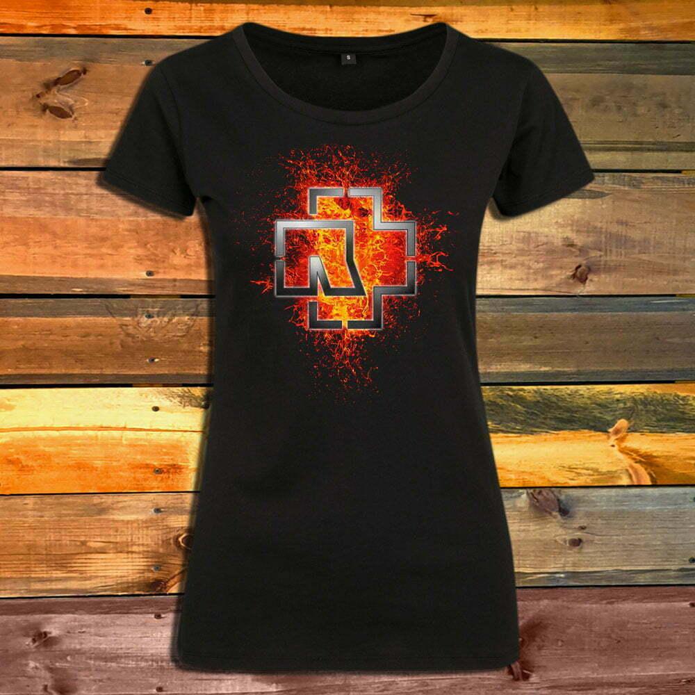 Дамска Тениска Rammstein Lava Logo