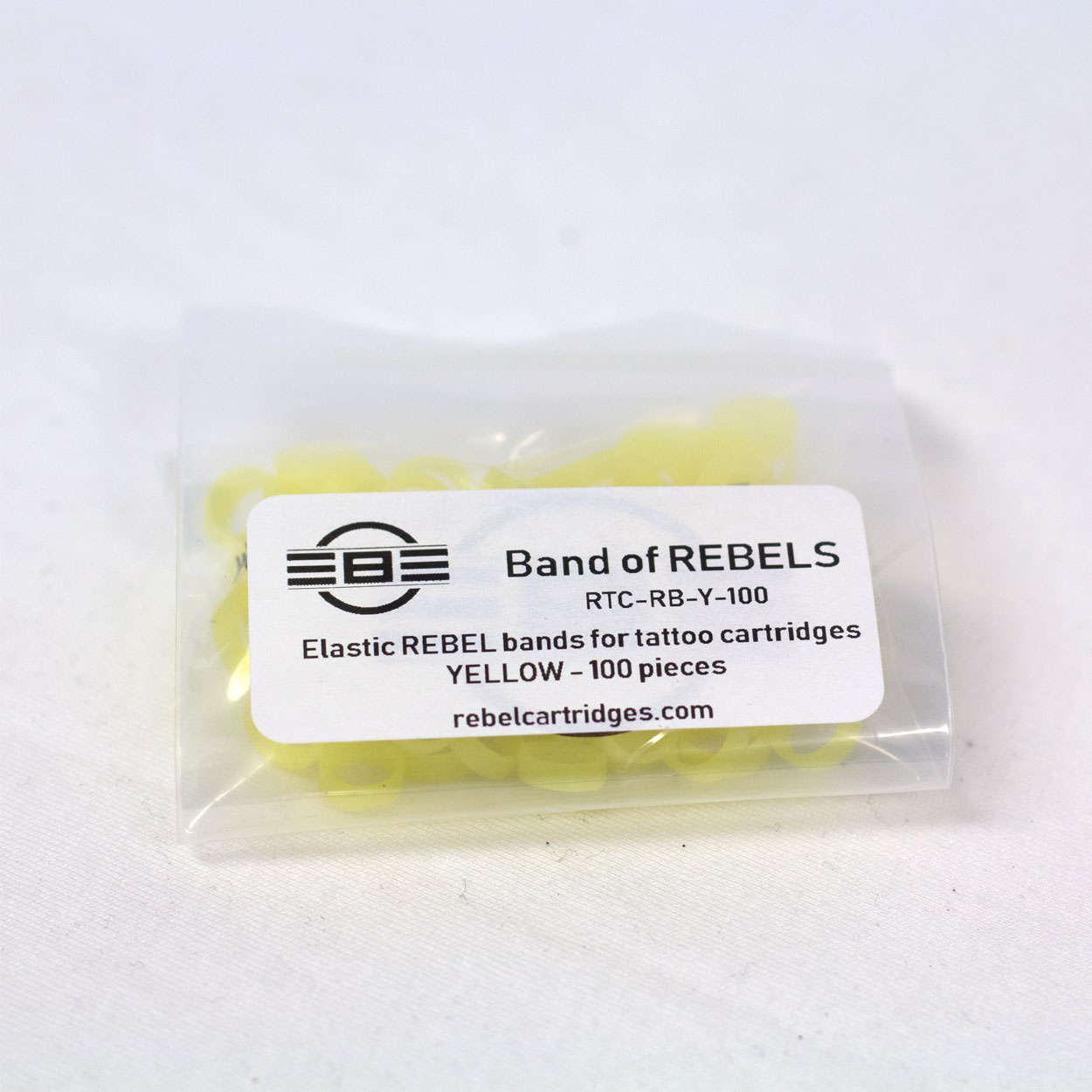 Band of REBELS - 100pc package - REBEL Tattoo Equipment