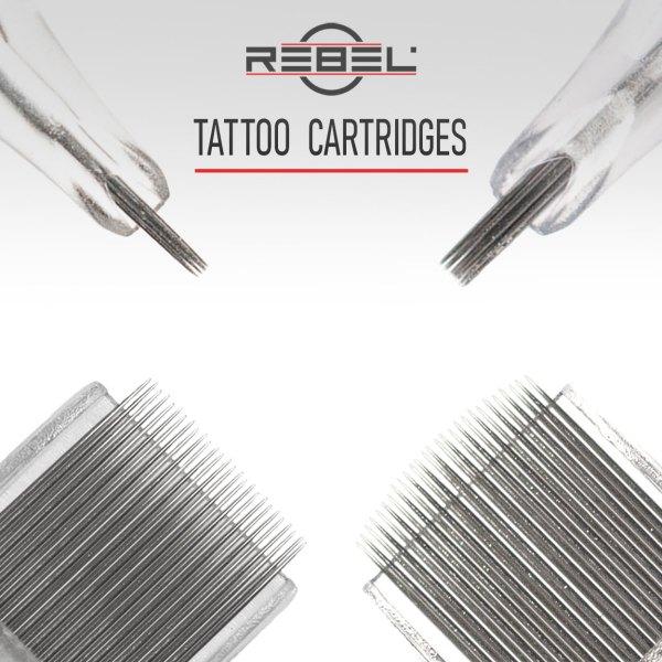 Tattoo cartridges - Categories - Precision - REBEL