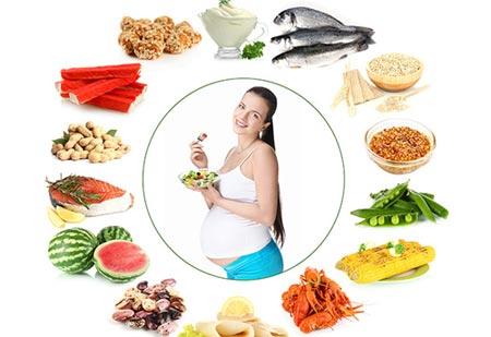 A terhes nők megfelelő táplálkozása
