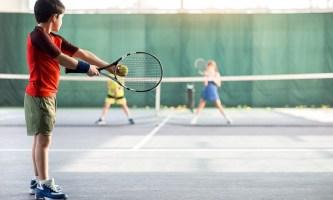 Большой теннис для детей