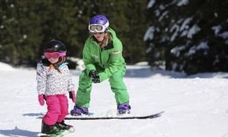 Сноуборд для детей: как выбрать секцию?