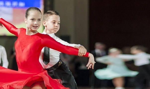 Спортивные бальные танцы для детей