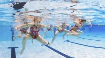 Синхронное плавание дети