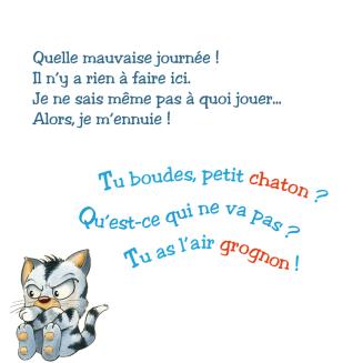 chaton grognon