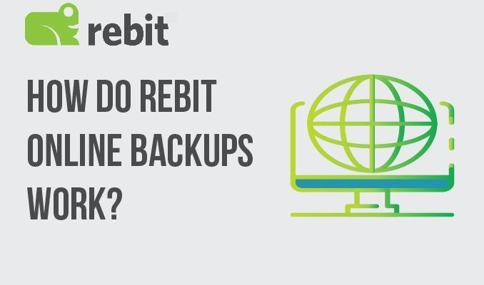 Como funcionam os backups on-line do Rebit?