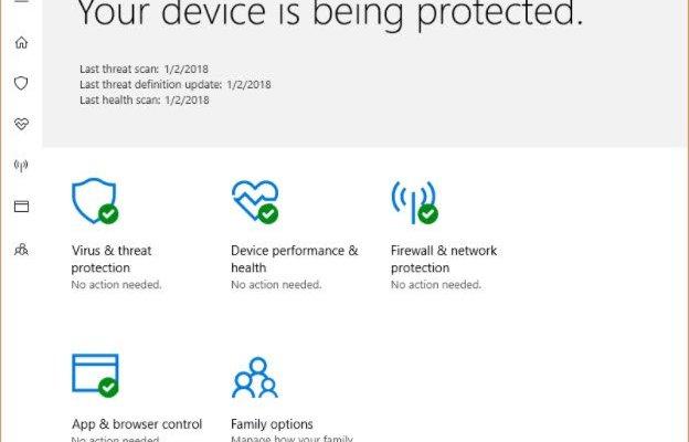 Windows Antivirus Up to Date