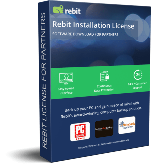Rebit Partner Product License 3D