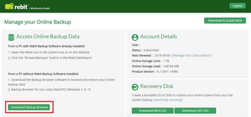 Backup Browser Download