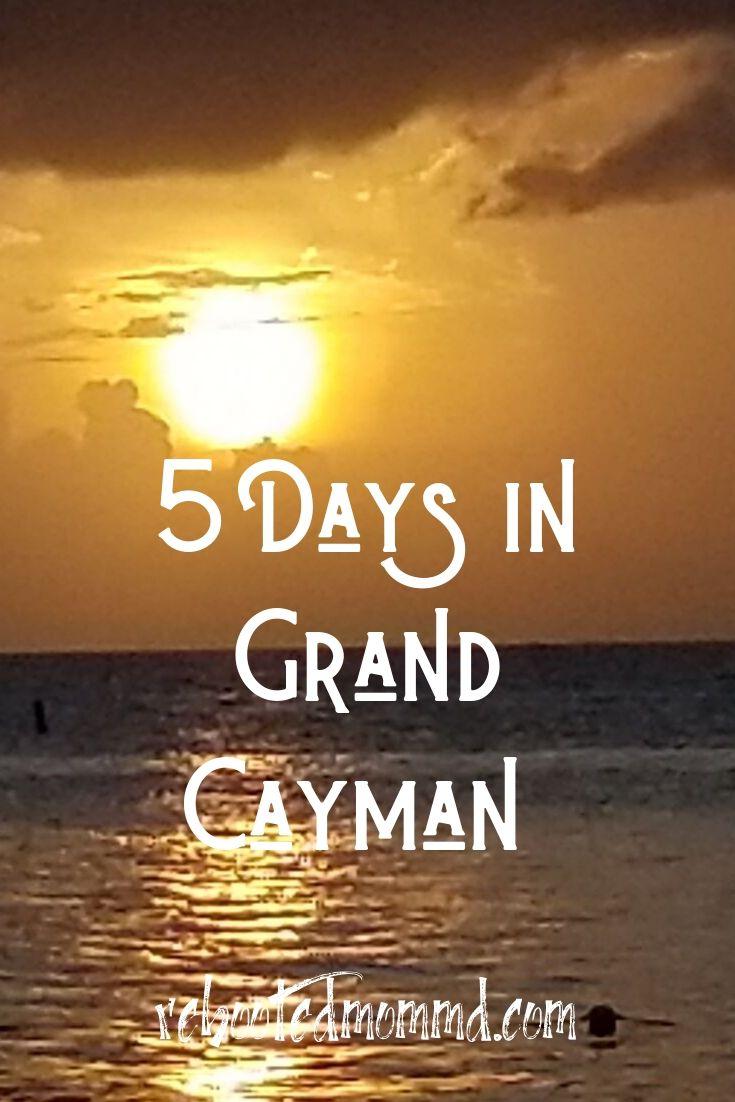 Summer Getaway: 5 Days on Grand Cayman