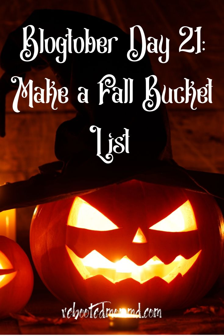 Make a Fall Bucket List