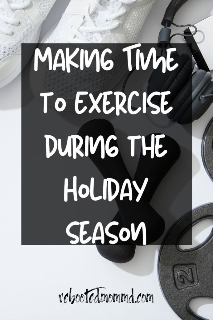 exercise during the holidays