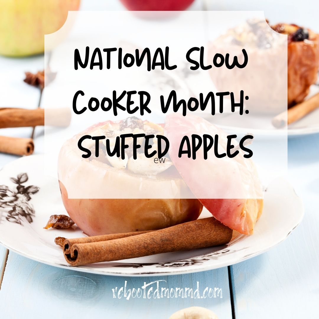 stuffed apples slow cooker
