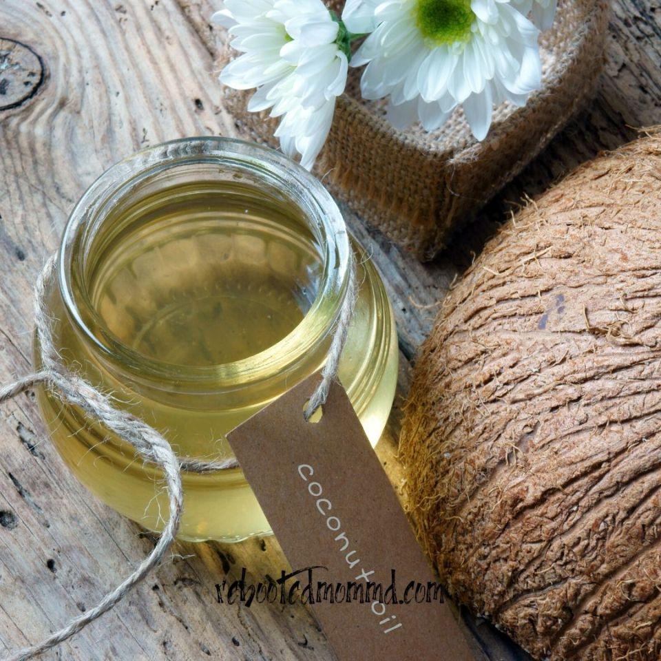 coconut oil dry skin
