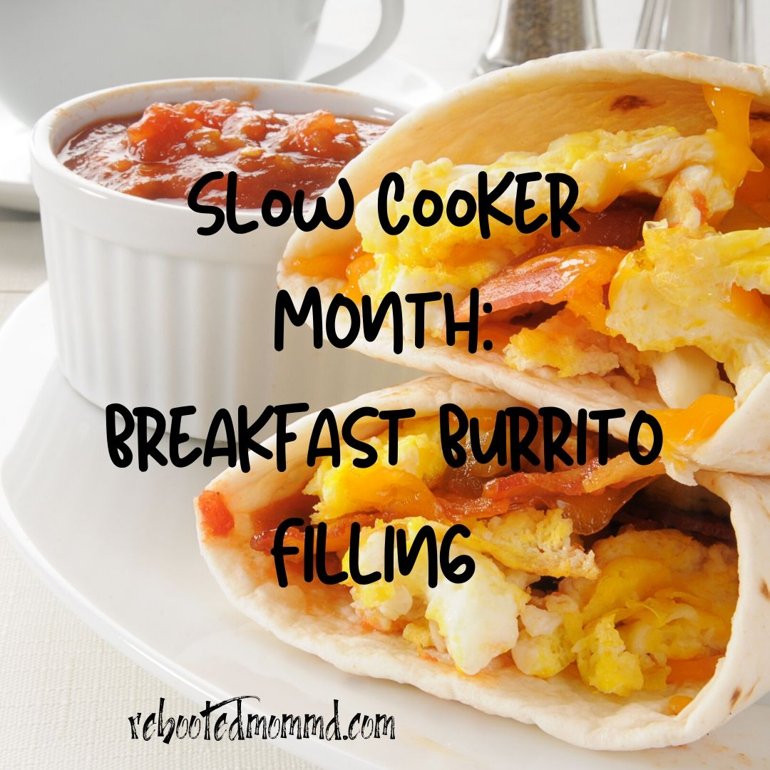 slow cooker breakfast burrito filling
