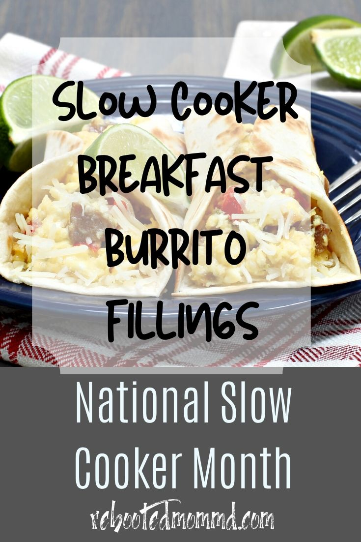 Slow Cooker Month: Breakfast Burrito Filling