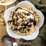 chocolate peanut butter mousse parfait