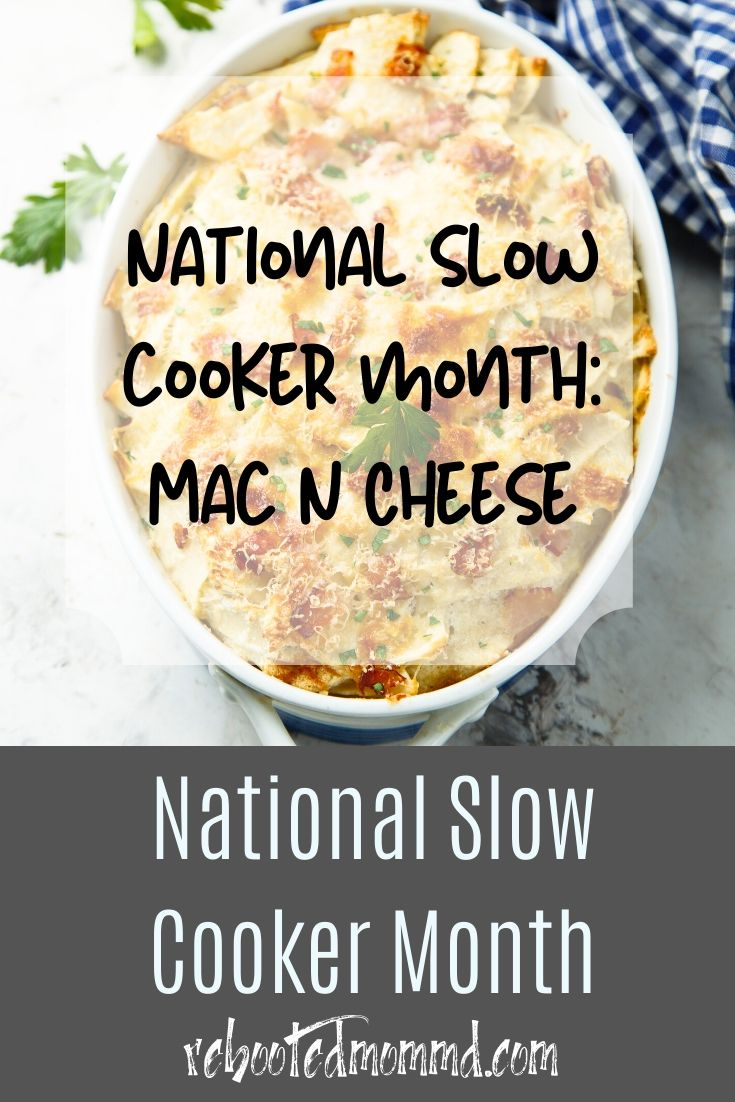 Slow Cooker Month: Best Slowcooker Macaroni and Cheese