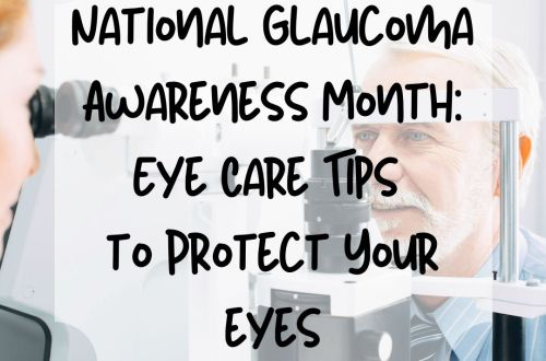 national glaucoma month