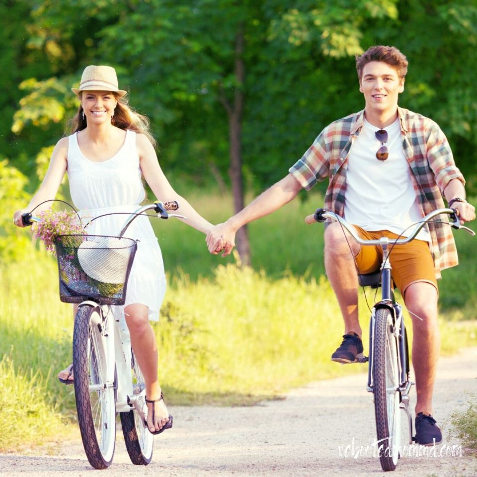valentine's day date cycling
