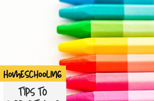 colored pencil homeschooling
