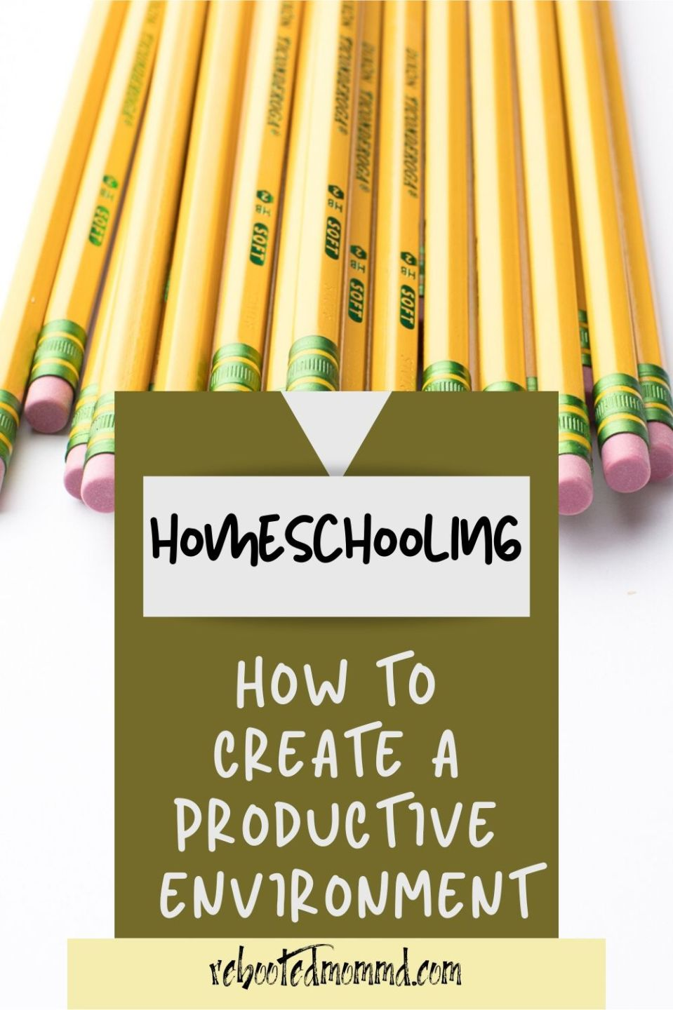 Organize Your Home to Be a Productive Learning Environment
