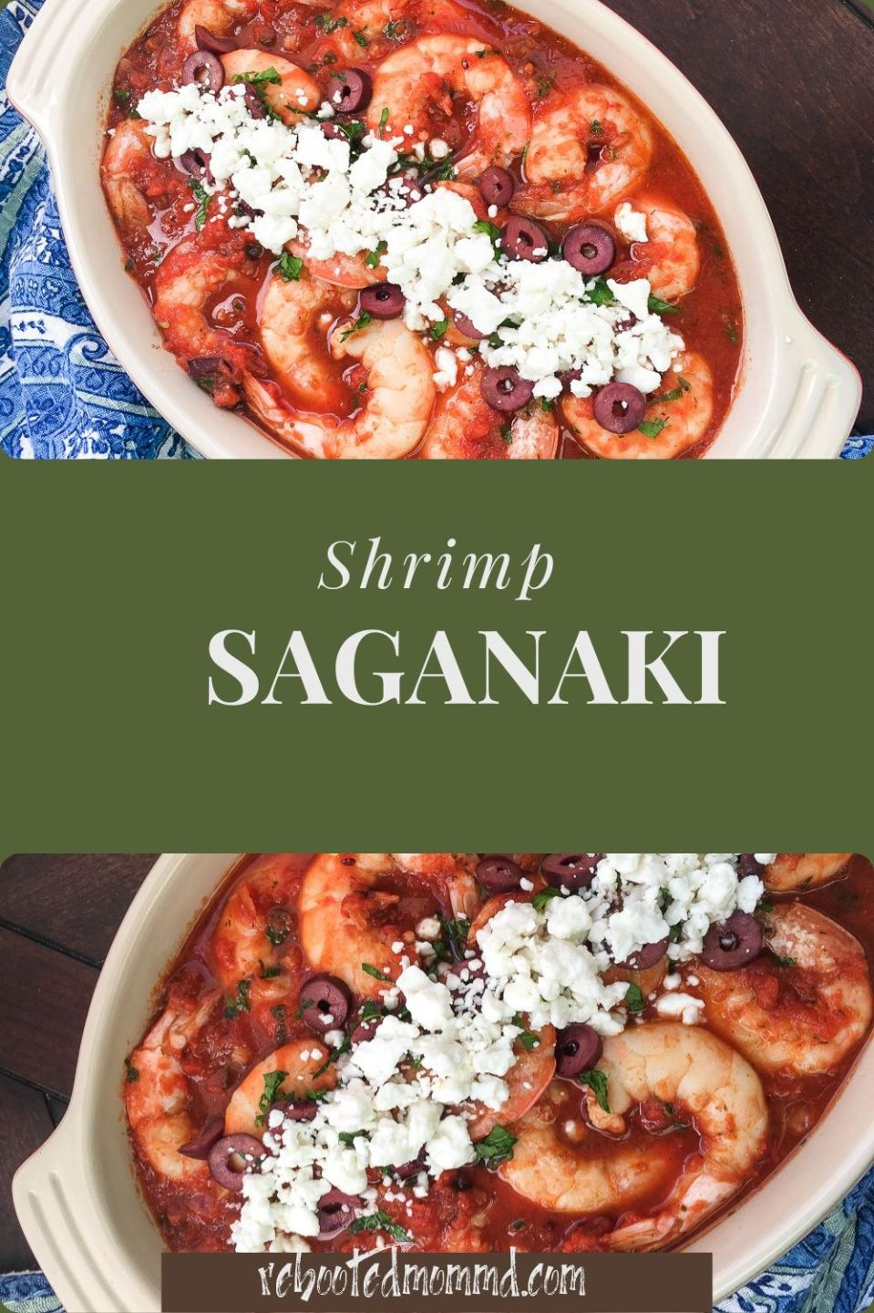 Shrimp Saganaki
