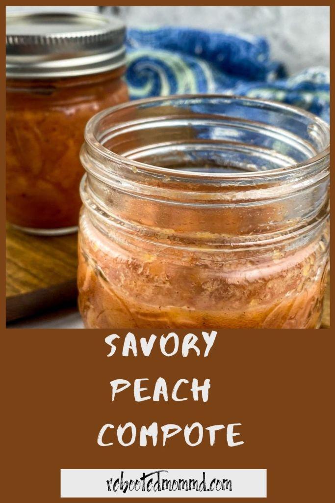 Savory Peach Compote