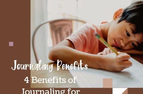 child journaling