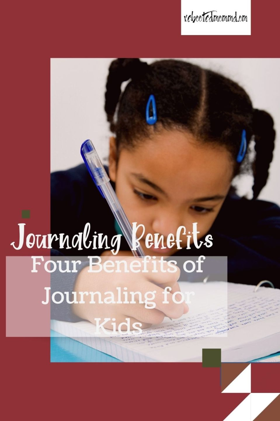 Four Benefits of Journaling for Kids