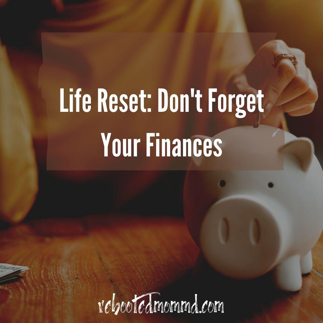 finances life reset