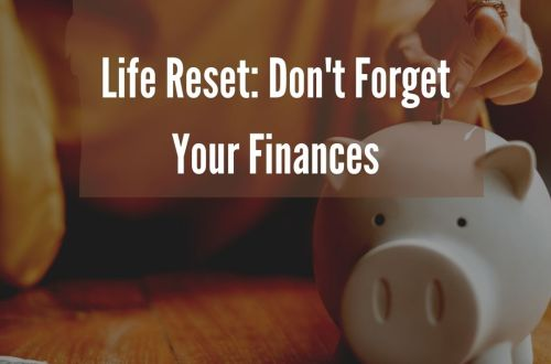 finances life reset