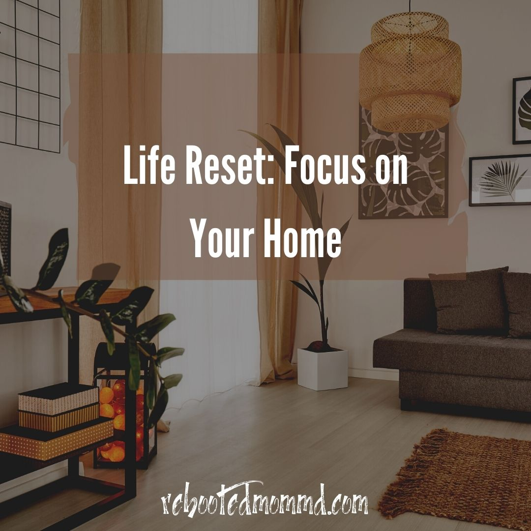 life reset home decor