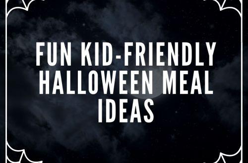 fun meal halloween