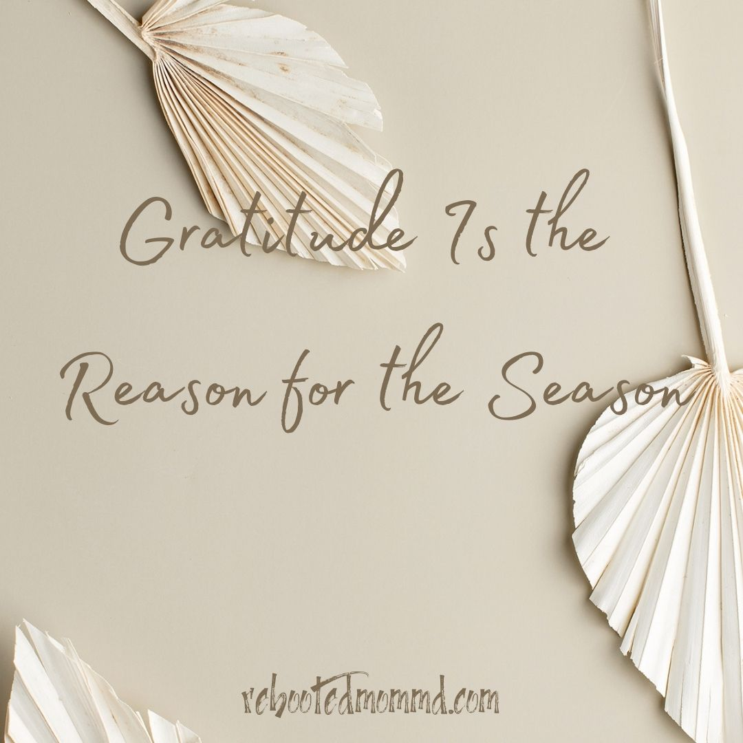 gratitude the reason for the season