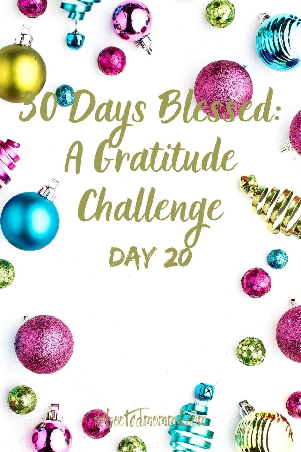 Day 20. Challenge Yourself to Live in the Present