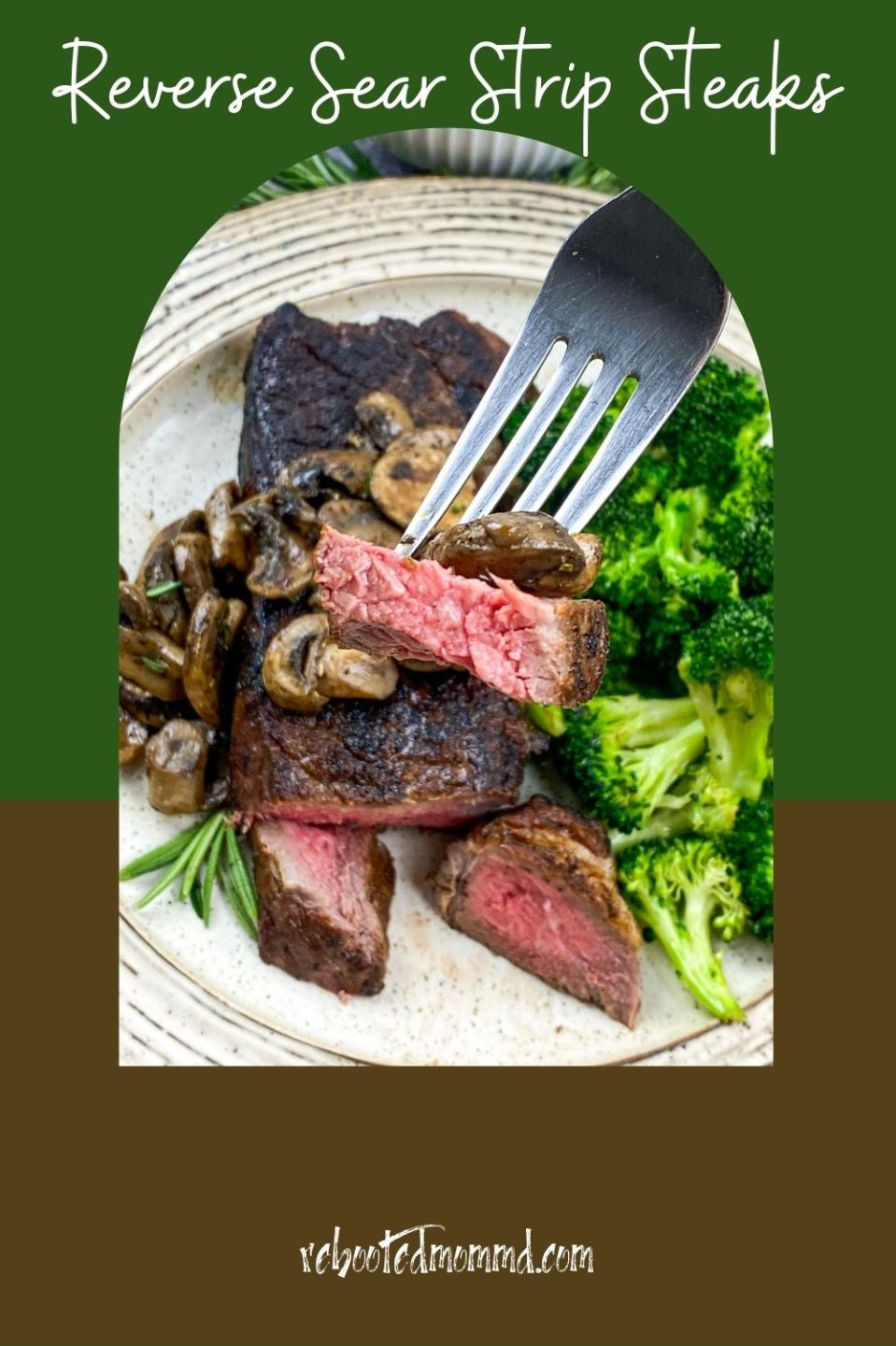 National Meat Month: Reverse Sear Strip Steaks